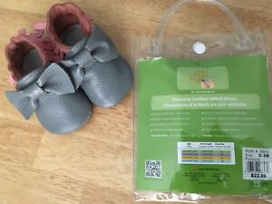Genuine Leather Shoe/Slipper 0-6 months