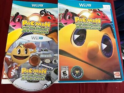 Pac-Man and the Ghostly Adventures Nintendo Wii U Complete