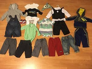 Boy clothes 3-6m some new. Prince George British Columbia image 1