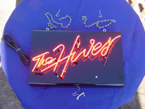 The Hives,Neon Sign,Smaller Version of Stage Sign,Howlin Pelle Almqvist,NEW,RARE