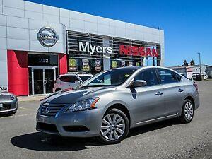 2014 Nissan Sentra ECO & SPORT DRIVE, ALL BLACK INTERIOR