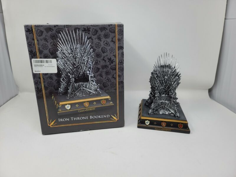 Official Game of Thrones Iron Throne Bookend by The Noble Collection