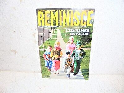 Reminisce Magazine October / November 2018  Costumes - October Costumes