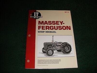 Massey-ferguson Tractor Shop Manual To35f40 Mh50mhf202mf35mf50mf202mf204