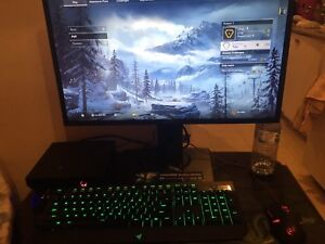 Full gaming pc set up alienware alpha rush