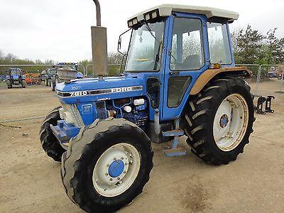Ford Tractors Workshop Manual 10 Series