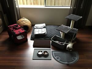 Kitten/Cat Bed, Carrier, Scatching post & accessories bundle Lysterfield South Casey Area Preview