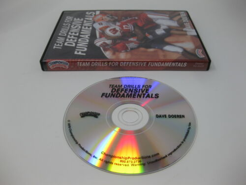 Team Drill For Defensive Fundamentals Dave Doeren DVD - Championship Production