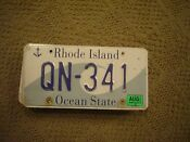 Rhode Island Wave License Plate