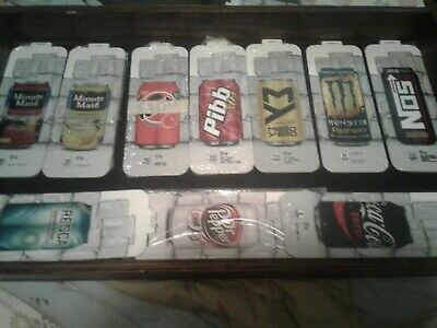 10 10 Packs Royal Vendors Soda Vending Machine 12oz Can Vend Label Kit