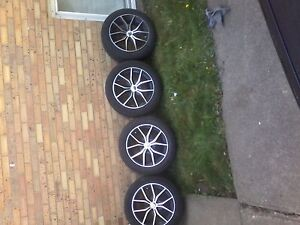 brand new tires and rims.