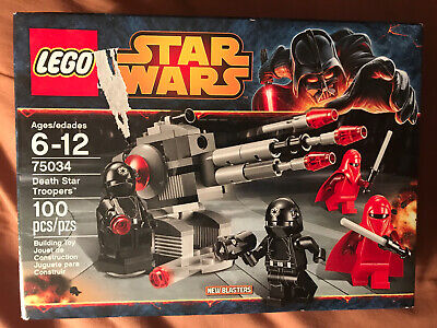 Lego Star Wars #75034 Death Star Troopers NEW In Box Small Damage By Logo.