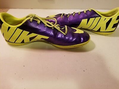 040464084 Nike Mercurial Victory IV IC Indoor Soccer Cleats Youth Shoe Size 6Y  555646-778