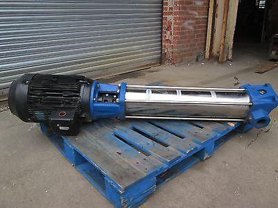 25 Hp Boiler Pump Berkeley 2 Pipe 330 Psi Max Model Bvm16-160 Grundfoss