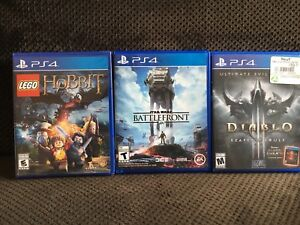 PlayStation 4 Games - 3 for $40