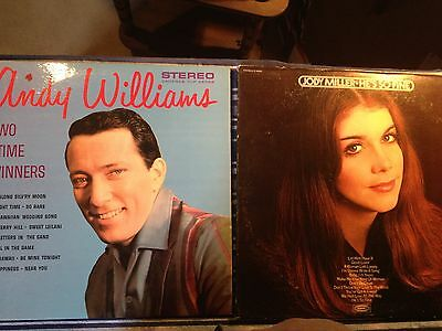 2 greats Andy William and Jody Miller LP
