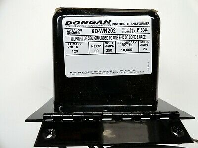 Xdwn-202 Dongan Ignition Transformer For Wayne M Mh Oil Fired Burners