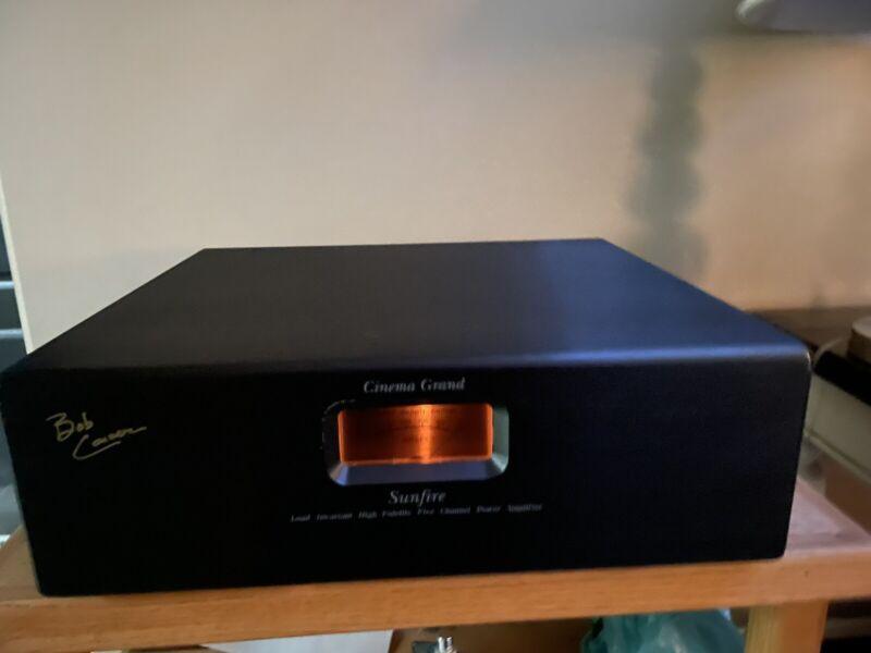 Sunfire Cinema Grand Signature Amplifier