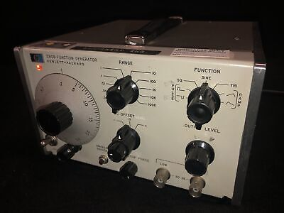 Hewlett Packerd Hp 3310b Function Generator 0.0005hz To 5mhz