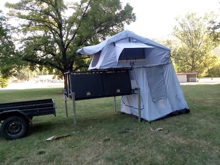 Roof Top Tent & Tradie Trailer Camper