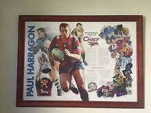 Paul Harragon signed print Stockton Newcastle Area Preview