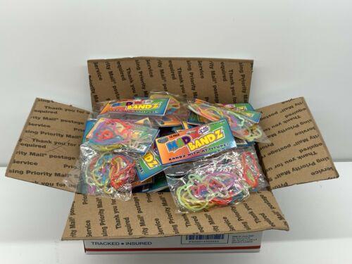 Total 1440 pcs 120 Packs Mad Bandz-Silly Shapes-Rubber Bandz Bracelets Birthday