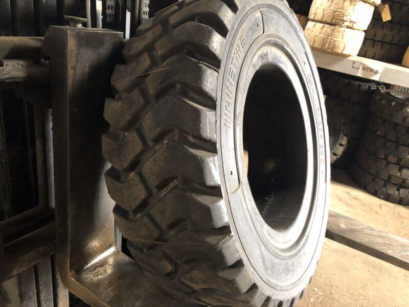 250x15 Mainetire Solid Pneumatic Tire Rim Size 7 Forklift NashFuel