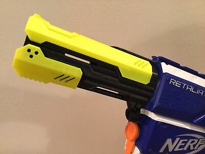 SSWI (ANY COLOR) Custom Barrel Twist On For Nerf RapidStrike Stryfe Modulus More