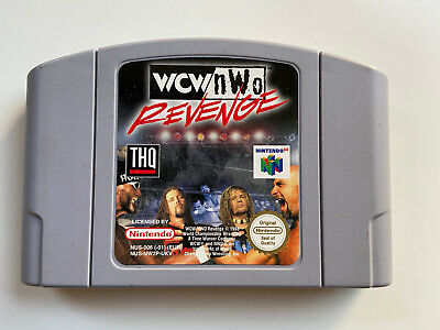 Nintendo N64 - WCW/NWO Revenge - N64 cart - Wrestling Game