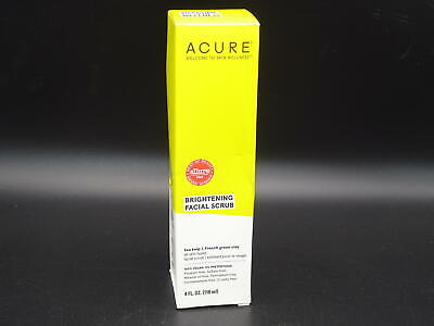 ACURE Brightening Facial Scrub, 4 Oz. (Packaging May Vary)