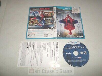 Amazing Spiderman 2  COMPLETE   - NINTENDO Wii U - 511