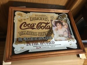 Coca Cola Mirror Find Art Antiques Vintage Items And