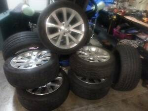 """Holden x6 Ve V Wheels, 1 New, 5 Used + 7 - 245/45/18""""s + 3 Advnti St Albans Brimbank Area Preview"""
