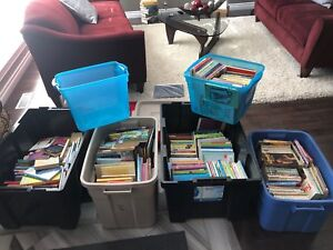 Sold by the bin full! Tons of young readers & teen books