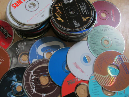 lot of 101 CDs DISCS ONLY no inserts or cases FREE SHIPPING