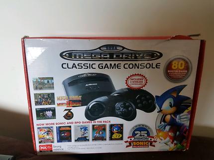 Mega drive gaming console