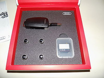 Audi Original - Accessories Box  Audi USB memory key, Audi SD Karte,Ventilkappen