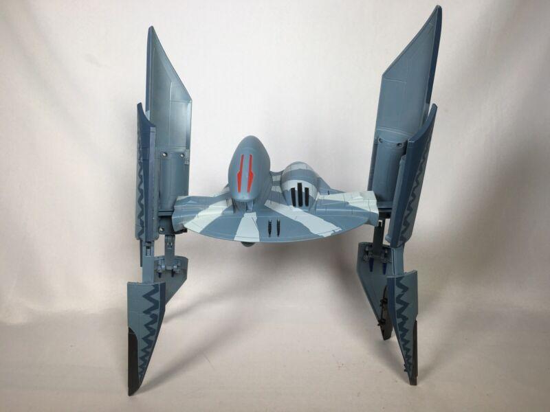 Star Wars Clone Wars Hyena Bomber Starfighter Vulture Droid Hasbro 2010