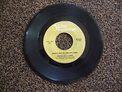 FRIEND AND LOVER REACH OUT OF THE DARKNESS / TIME ON YOUR SIDE 45 VG FREE