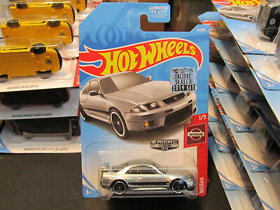 2019 Hot Wheels Factory Sealed Set Nissan Skyline GT-R BCNR33 ZAMAC
