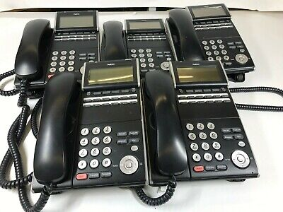 Lot Of 5 Nec Itl-8ld-1 Dt700 Office Phones