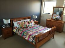Knotts Pine Bedroom Suite + Mattress North Wollongong Wollongong Area Preview