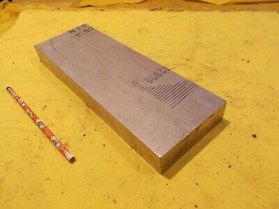 6061 Aluminum Flat Stock Tool Die Bar Sheet Plate 1 14 X 4 18 X 12