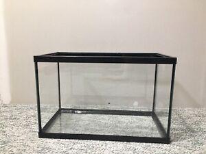 5.5 Gallon glass aquarium