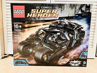 LEGO Super Heroes DC Comic Batman The Tumbler New MISB 76023/10937/76042