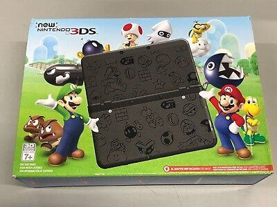 New Nintendo Ktrskgaausz 3Ds  Super Mario Black Edition