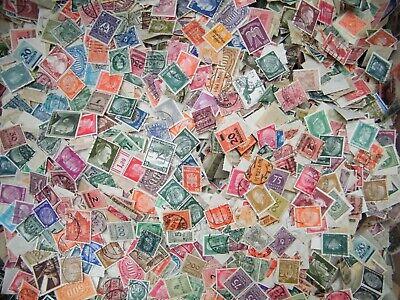 Deutsches Reich Lot Briefmarken aus Nachlass 300 stück.