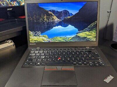 Lenovo ThinkPad X1 Carbon 3rd Gen 20BT Laptop i7-5600U 8GB RAM 240GB SSD