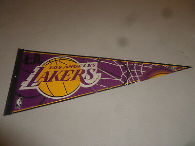 LOS ANGELES LA LAKERS BASKETBALL NBA WINCRAFT SPORTS PENNANT BANNER 29