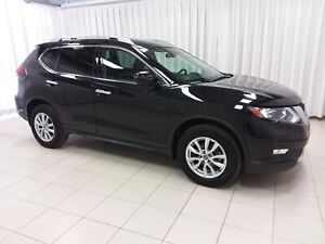 2018 Nissan Rogue SV AWD WITH SUNROOF, ALLOYS, BACKUP CAMERA, FO